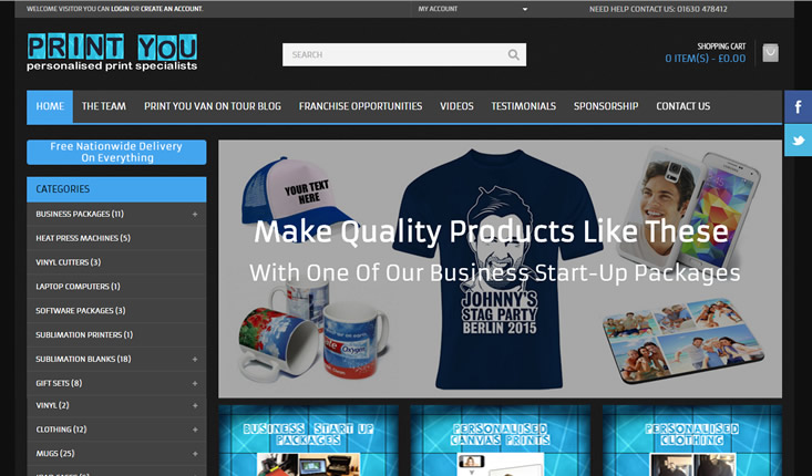 Website design Telford