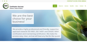 Telford Shropshire website design